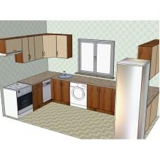 Кухня 13п