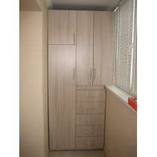 Шкаф на балкон 0002